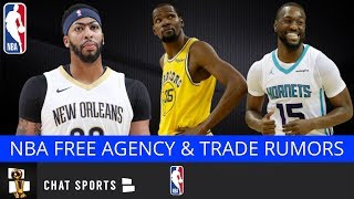 NBA Rumors: Kevin Durant Free Agency, Anthony Davis Trade, Kemba Walker & Tobias Harris Free Agency