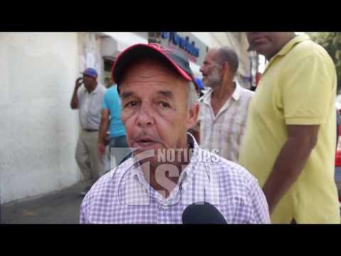 Caos en el Centro Histórico de Santiago ante desalojo de buhoneros