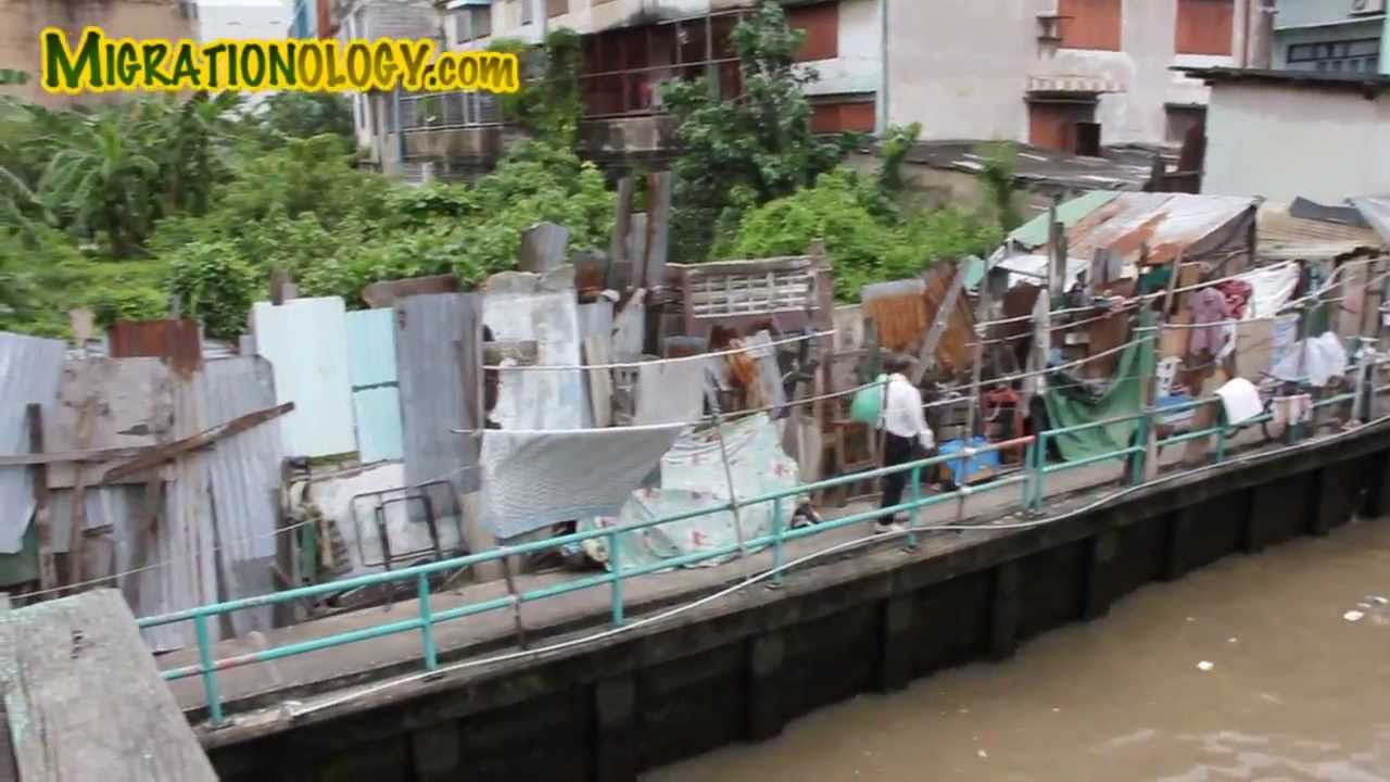 Bangkok's Khlong Saen Saeb - Traditional Canal Through the Heart of Bangkok