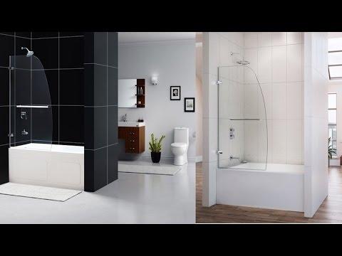 DreamLine Aqua Uno 34 Inch Frameless Hinged Tub Door Exquisite Custom Glass  Look In Chrome Finish