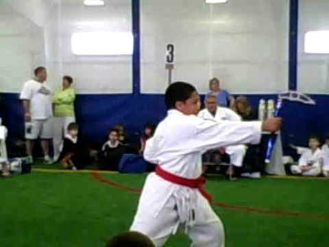 Sebastian's Kama Form at Worcester Classic Karate Tournament 2010