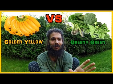 THE VIBRANT GOLDEN FRUIT DIET BEATS THE GREEN LIFESTYLE ANY DAY
