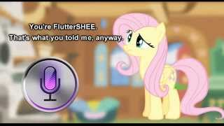 Fluttershy and Siri have a Conversation 🍉 thumbnail