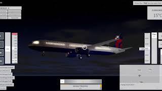 Roblox:Velocity Flight simulator[Delta airlines][Airbus A321][Turbulence]TNCM-TXKF Pt 2