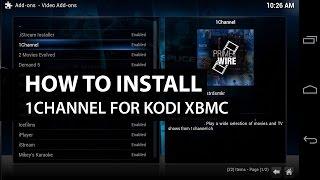 1Channel Kodi XBMC: How To Install 1Channel on Kodi XBMC