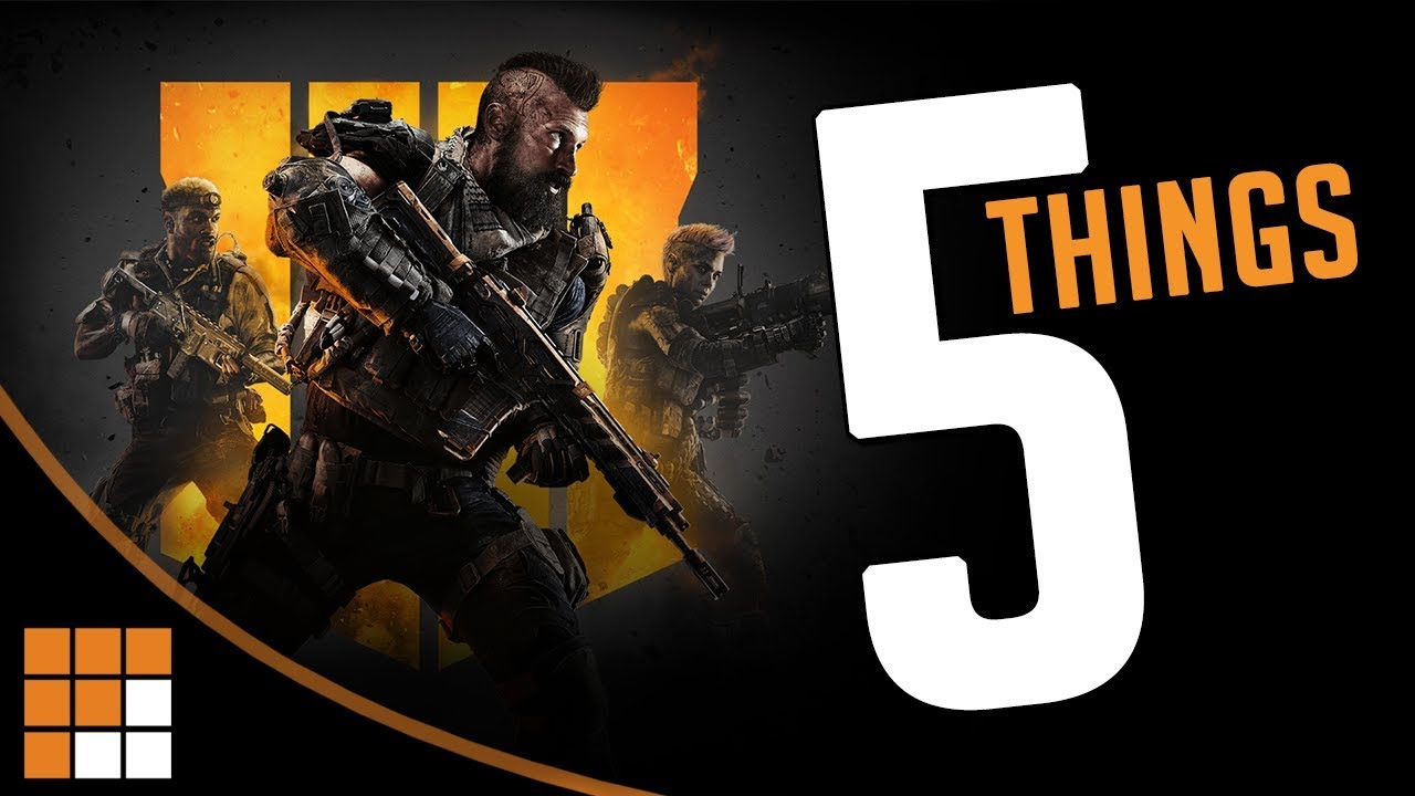 Call of Duty Black Ops 4: 5 Things You Need to Know