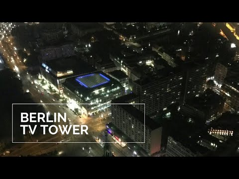Brilliant view from the Berlin TV Tower