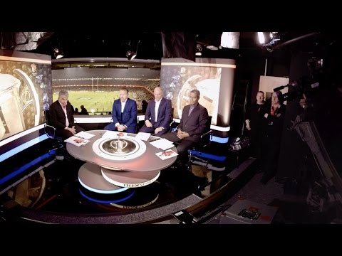360° behind the scenes in the bbc sport studio: six nations 2016