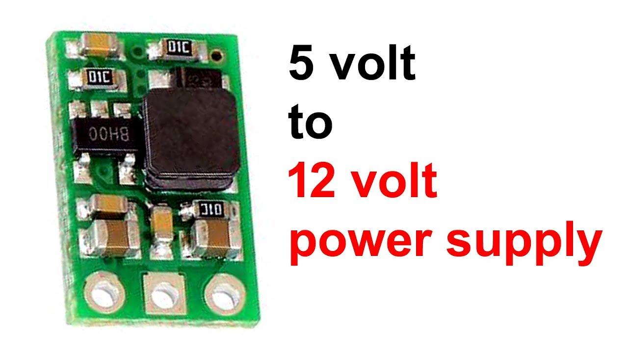 5 volt to 12 volt converter