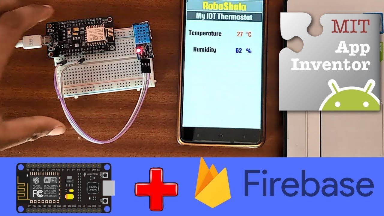 NodeMCU Firebase | Make your own IOT APP