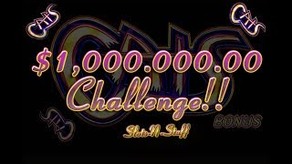 CATS Slot Play - Quest for the $1 Million Jackpot!!