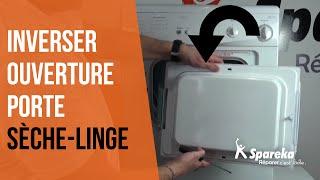 Comment réparer votre sèche-linge - Inverser le sens d'ouverture ?