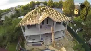 Монолитный дом. Обзор коробки с цокольным этажом часть 1.    Monolithic house. Overview.(, 2017-10-10T20:41:49.000Z)