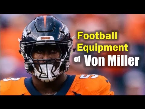 What Does Von Miller Wear On-Field?