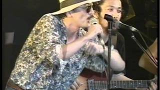 1991年 South to South再結成京大西部講堂ライブ.