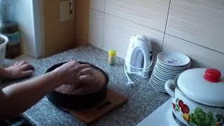 Шоколадный бисквит//Рецепт приготовления//Chocolate sponge cake//recipe