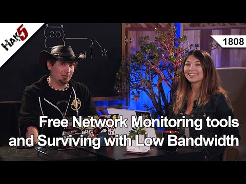 Free Network Monitoring tools and Surviving with Low Bandwidth, Hak5 1808