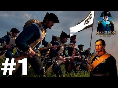 Napoleon: Total War За Пруссию #1 Агрессивное начло