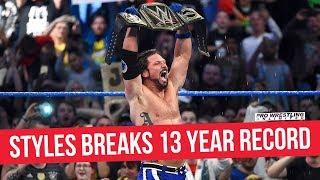 AJ Styles Breaks 13 Year Long Record