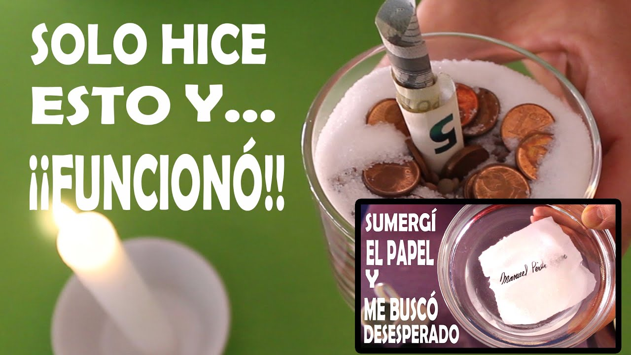 AMARRE  DOMINAR Y AMANSAR MUY PODEROSO Amarre con Agua Y ATRAER DINERO, c/ Monedas, Lentejas y Arroz