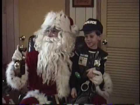 Santa Claus visits The Franklin's 1989