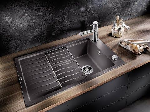 Кухонные гранитные мойки для небольшого пространства
