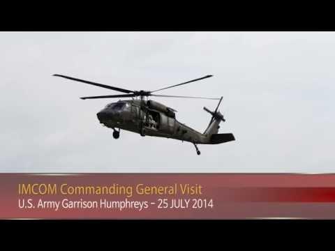 IN FOCUS - IMCOM Commanding General Visit - 25 July 2014