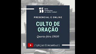 Culto oração 13/01/2021    O PODER DE CRISTO E A NOSSA DEPENDÊNCIA DELE