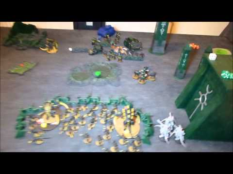 Swarmlord Tyranids Vs Space Marines (40k Battle Report)