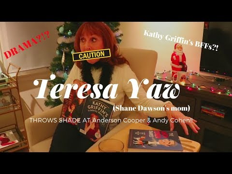 Teresa Yaw (Shane Dawson's mom) THROWS A LITTLE SHADE AT Anderson Cooper & Andy Cohen!!