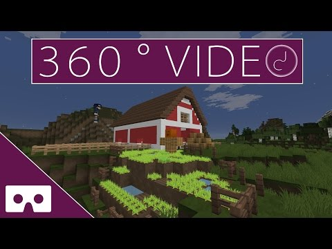 Your Builds - Farm 360° VR Minecraft Timelapse