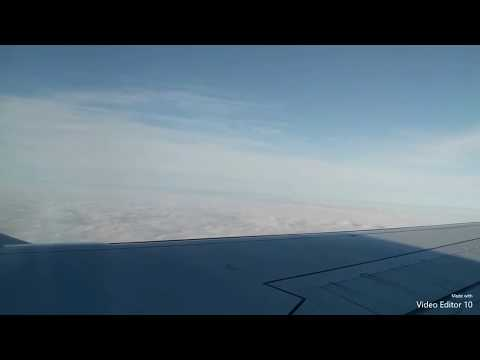 Taking off Charles de Gaulle Airport Paris to Dusseldorf in Cloudy Weather - Embraer ERJ - 190LR