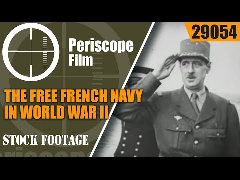 THE FREE FRENCH NAVY IN WORLD WAR II   SUBMARINE SURCOUF  29054