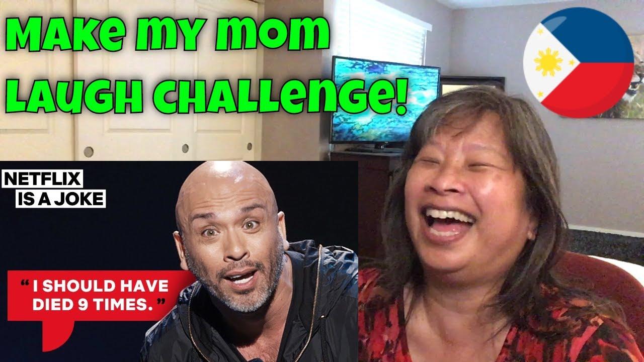 My Filipino Mom Reacts to Jo Koy - Mom Only Uses Vicks Vapor Rub