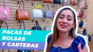 Distribuidora directa de bolsos de alta calidad por mayoreo - Pacas de bolsas y carteras