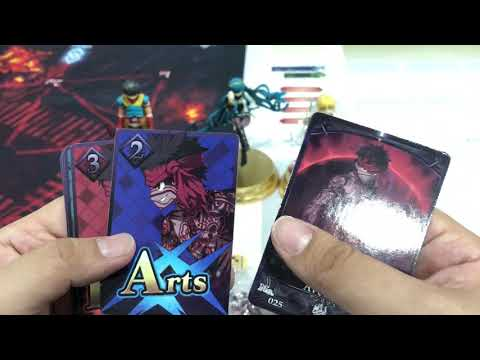 Fate/ Grand Order Duel Set 5 Unboxing
