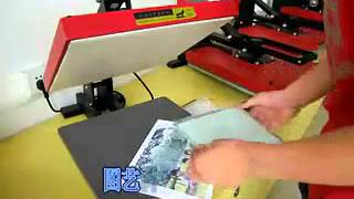 Sublimation glass with white coated and printing DIY Pictures for gift