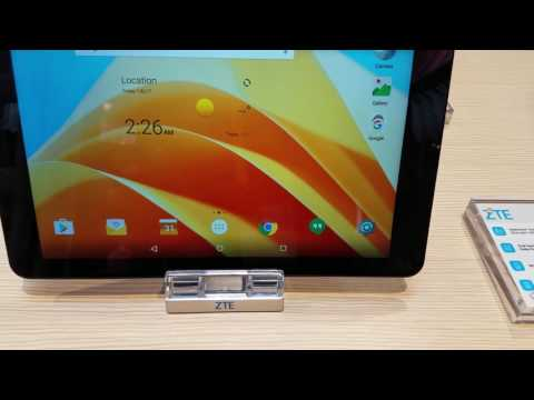 ZTE ZPad 10 CES 2017 Hands On!