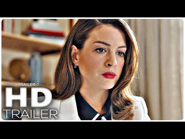 LOCKED DOWN Official Trailer (2021) Anne Hathaway, Drama Movie HD