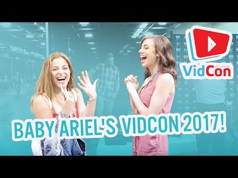 Baby Ariel's VidCon 2K17: Meeting Miranda and a musical.ly with Lisa and Lena!
