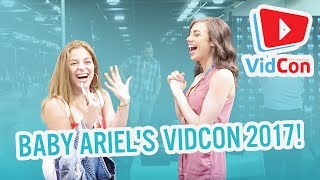 Follow Ariel, Jacob, and the family through VidCon 2017! Hang out w...