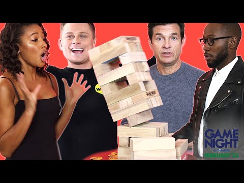 "The Cast of ""Game Night"" Plays 2 Truths & 1 Lie"