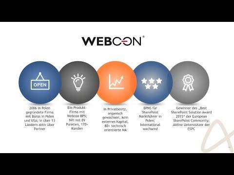 Webinar Mitschnitt: Workflows digitalisieren mit Webcon BPS