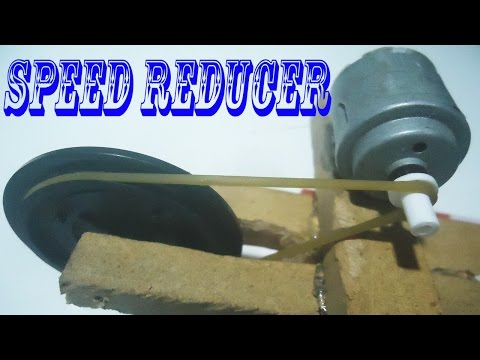 How to Speed Reducer   Motor (RPM) Gear Speed Reducer   Speed Can be Increased to Reduce the Power