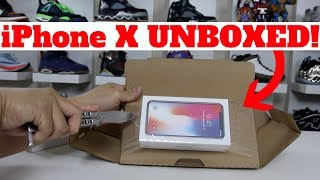 $1250 iPhone X 256GB UNBOXING!! & INITIAL THOUGHTS