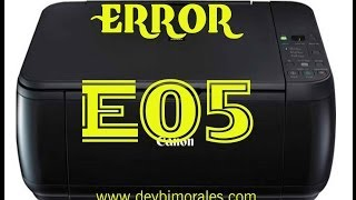 Error E05 solucion impresora canon MP280 parte 2 | Deybi Morales