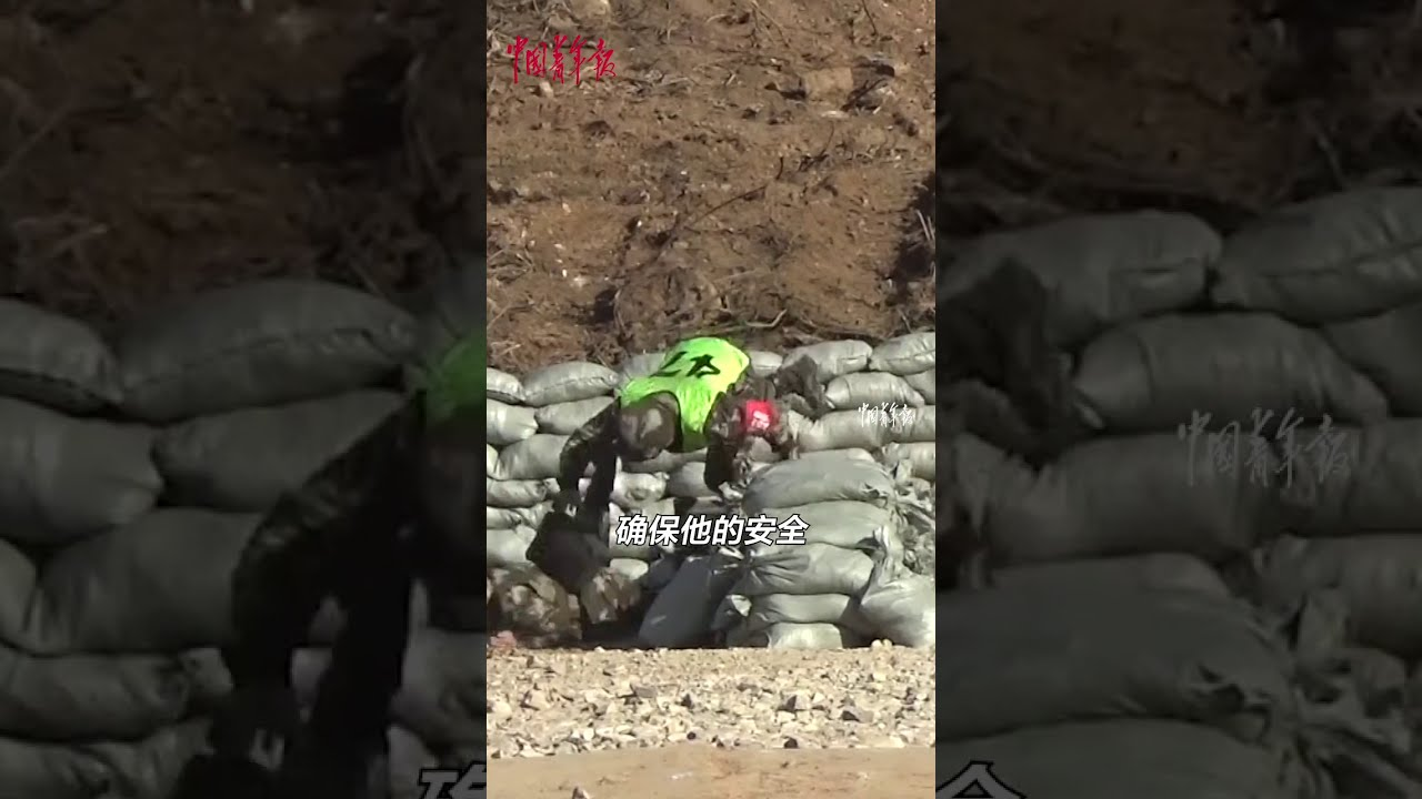 Throwing Bomb Training Fail – Army Bomb Fail #Shorts
