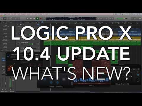 LOGIC PRO X 10.4 UPDATE - What's New? In-Depth Overview of New Features!