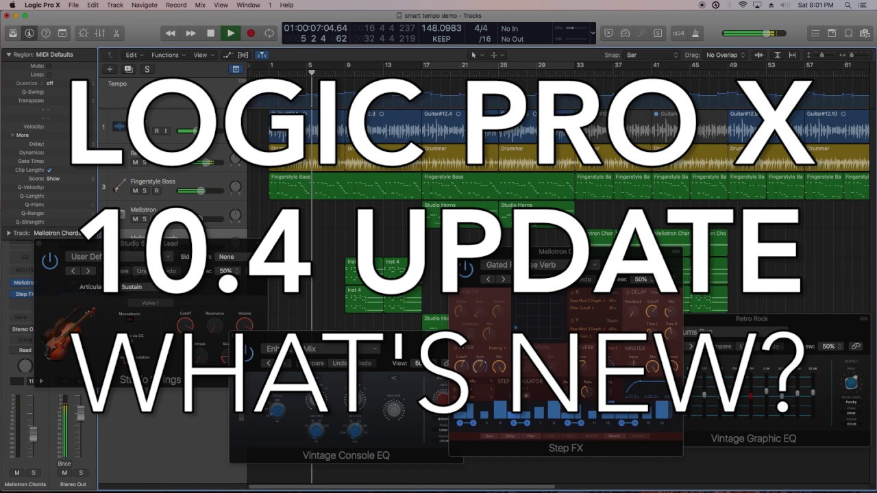 Logic Pro 10.4.9 Full Crack [Win   MAC] 2020 Torrent Patch Download