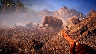 Epic Mammoth Hunt in Awesome Open World Game Far Cry Primal